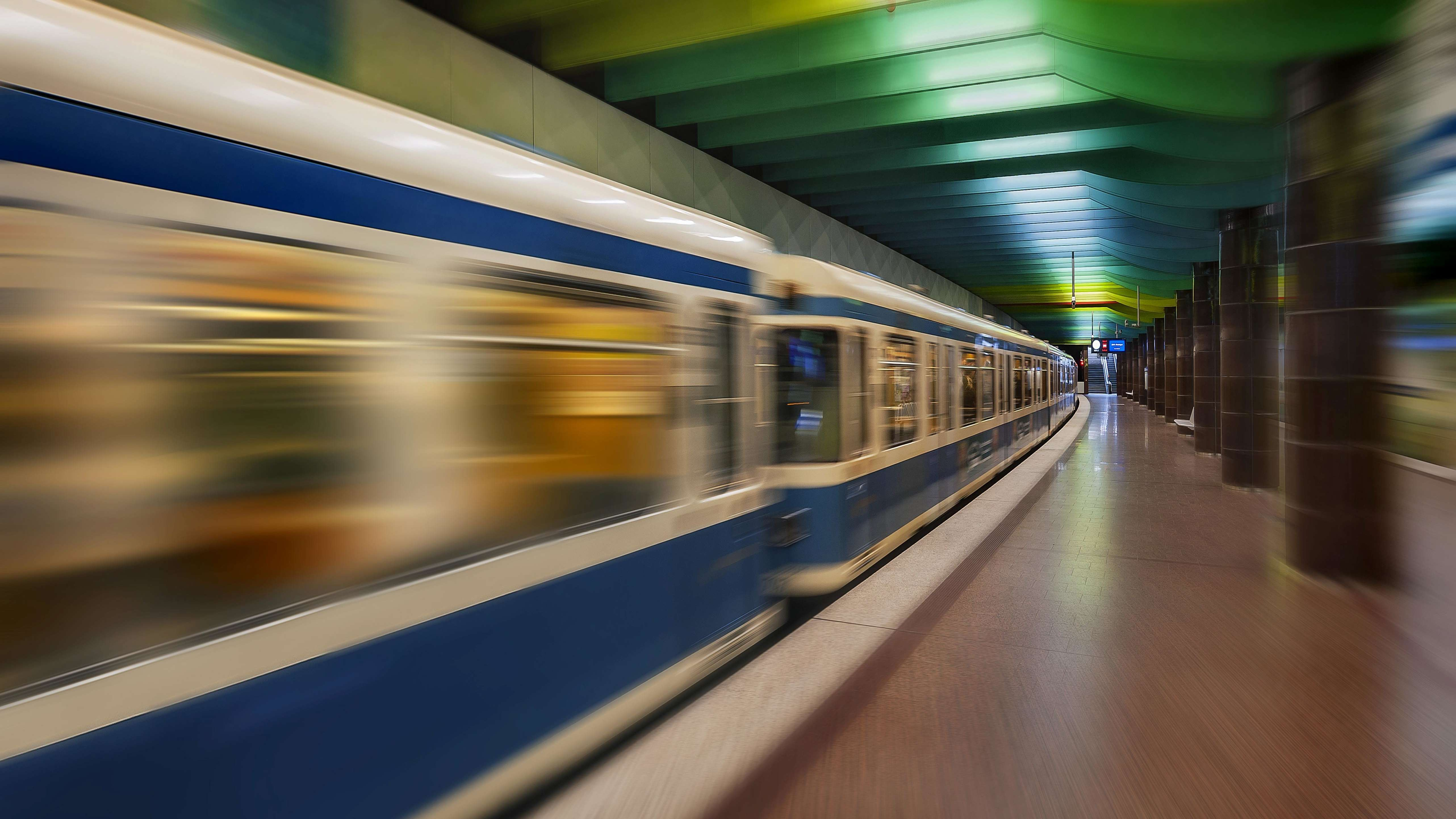 U-Bahn-Station Klinikum Großhadern, München