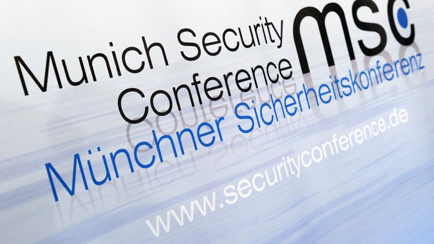Münchner Sicherheitskonferenz   Bild:picture-alliance/dpa; Montage: BR