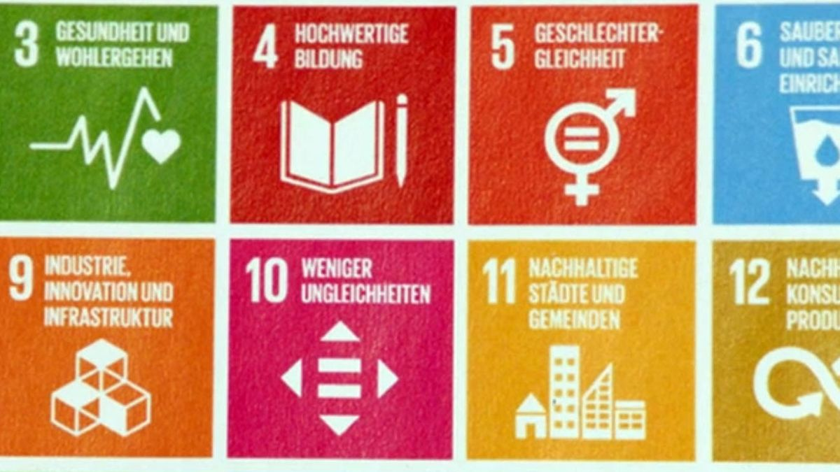 """Plakat """"Ziele für nachhaltige Entwicklung"""""""