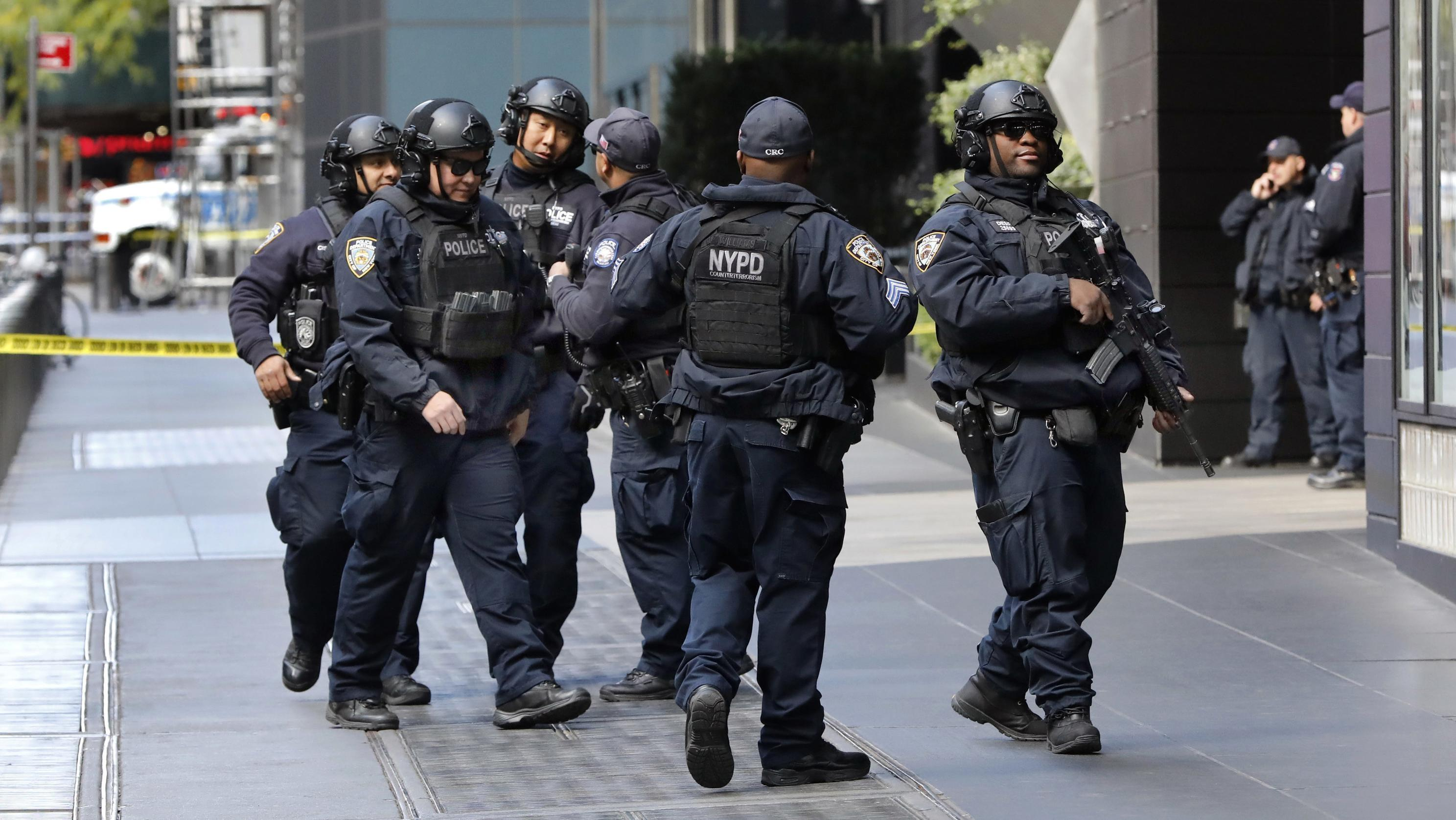 Polizisten in New York.