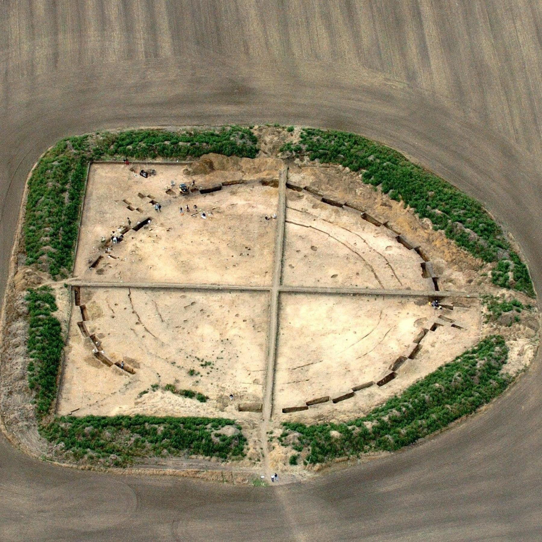 Sonnenkult in der Steinzeit - Was Kreisgrabenanlagen erzählen