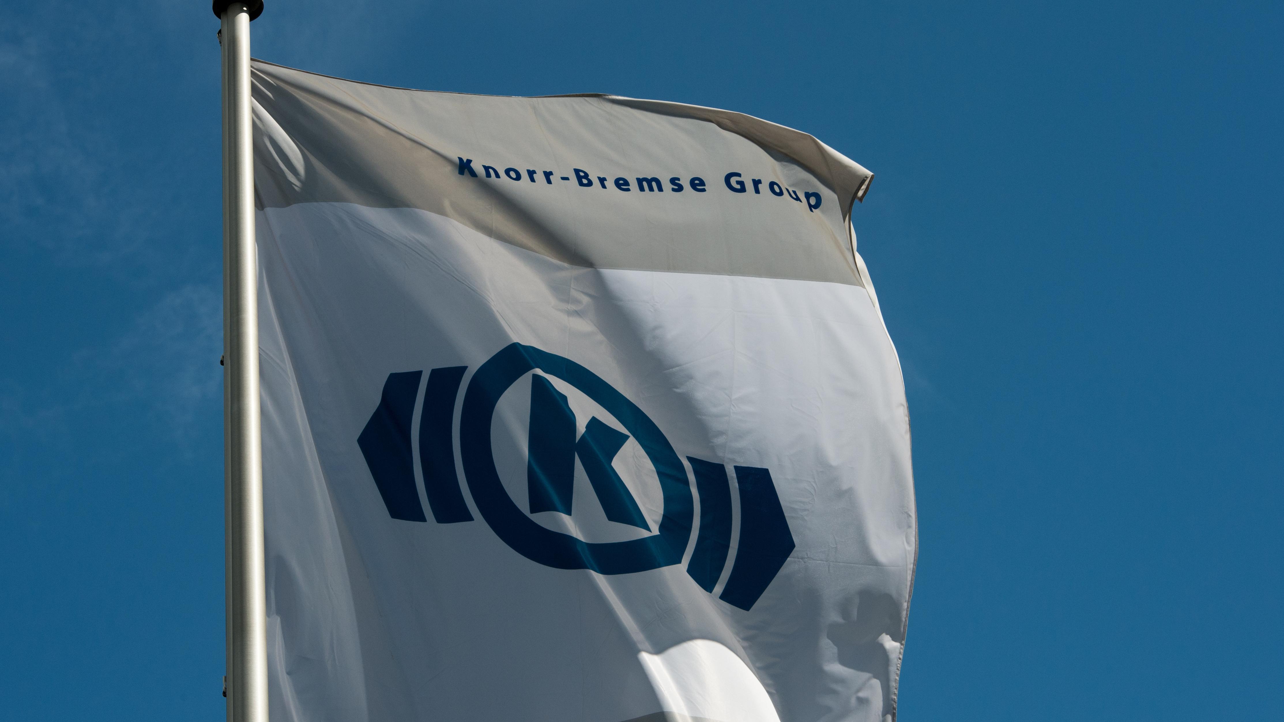 Fahne der Knorr-Bremse Group