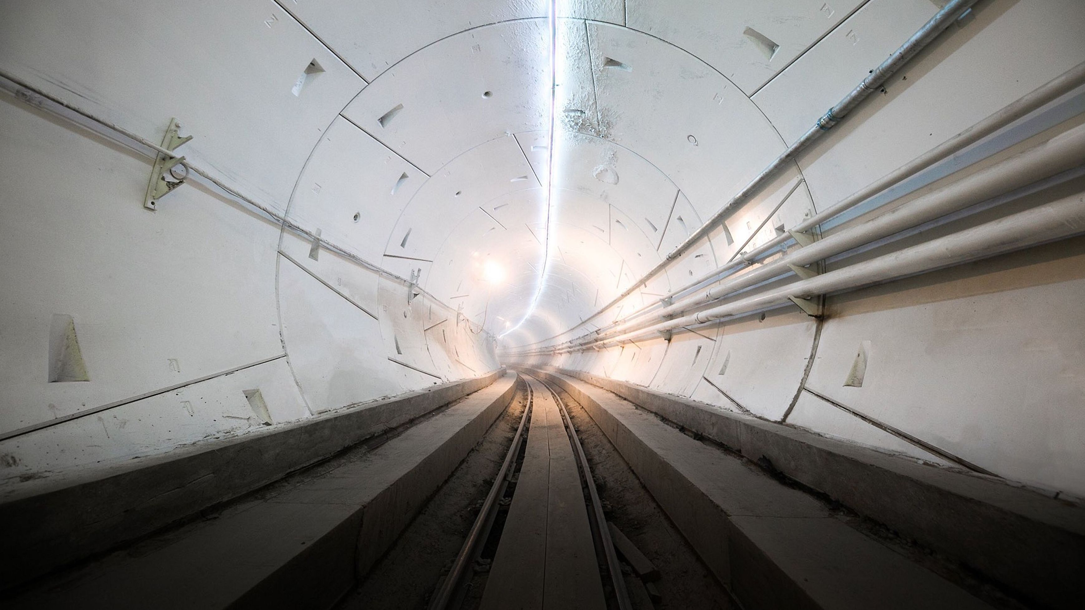 Hyperloop-Testtunnel in Kalifornien