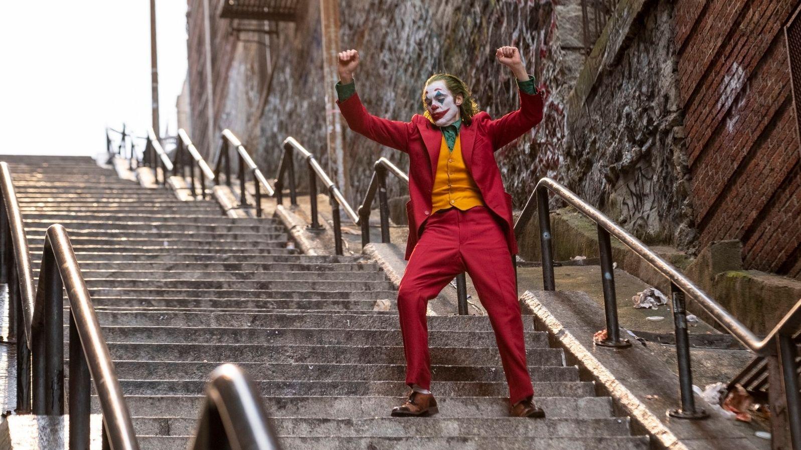 "Joaquin Phoenix als Batman-Bösewicht ""Joker"""