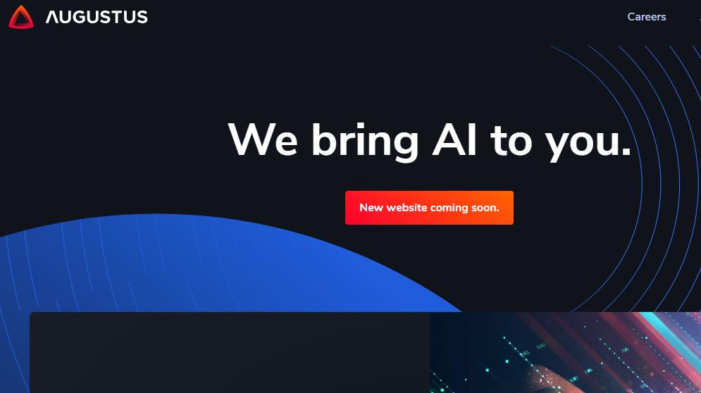 Die Website von Augustus Intellicence