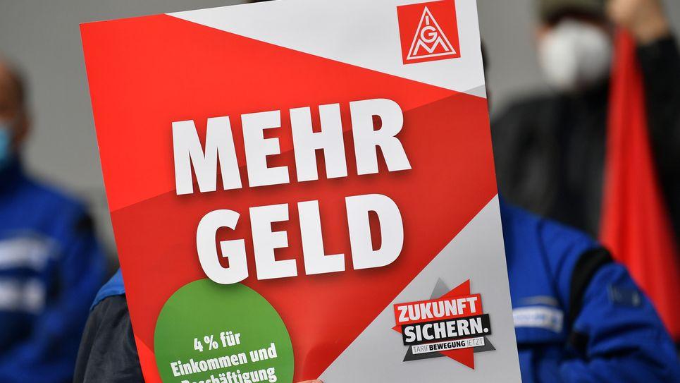 IG Metall: Warnstreiks in Ober- und Mittelfranken