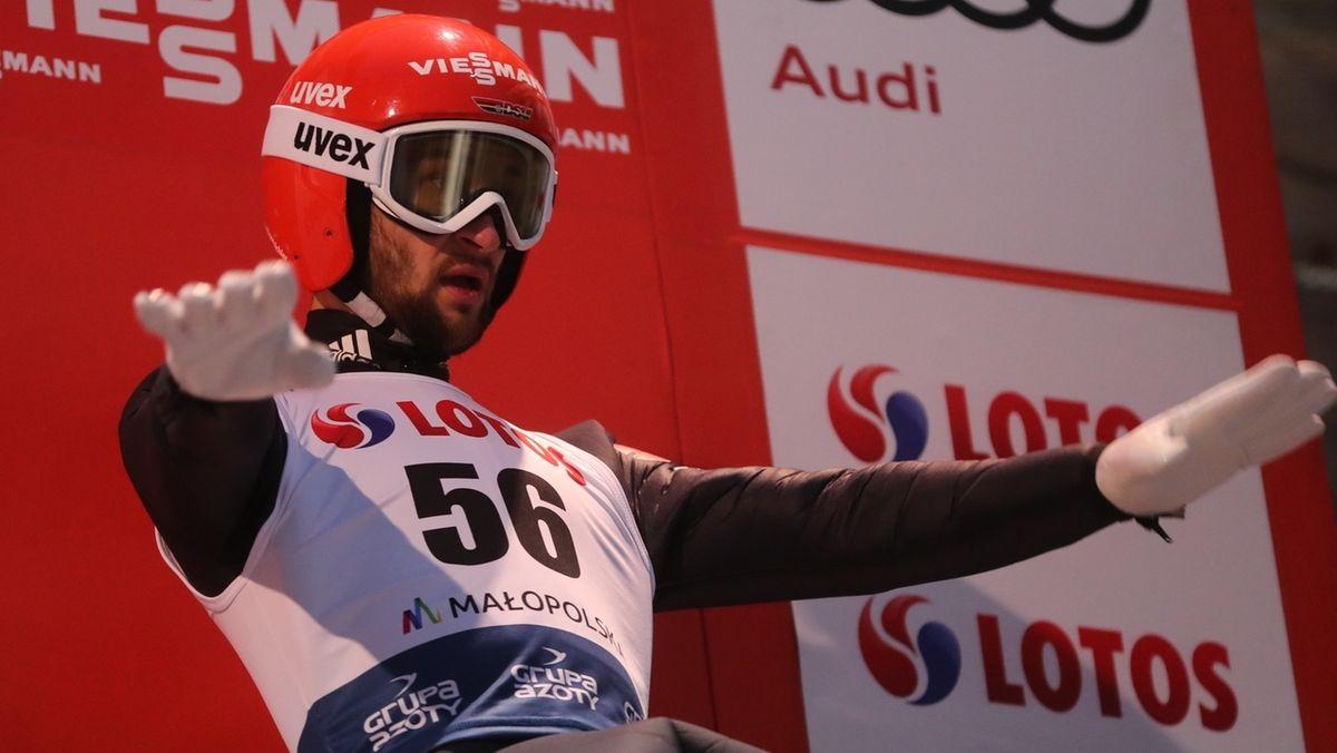 Markus Eisenbichler beim Teamspringen in Zakopane