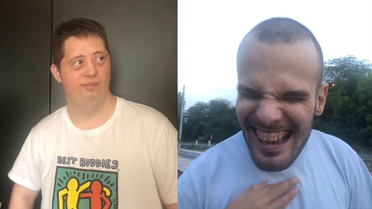 Strahinja und Vladimir sind beides Menschen mit Behinderung und leben in Serbien.