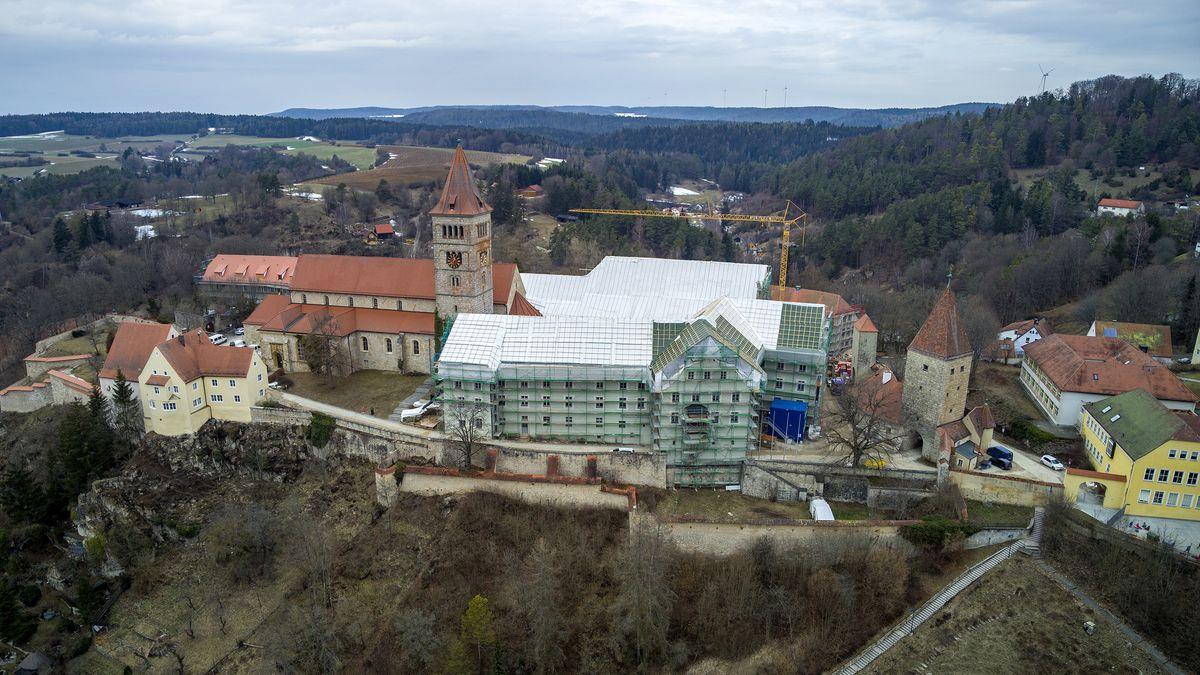 Baumaßnahmen an der Klosterburg Kastl