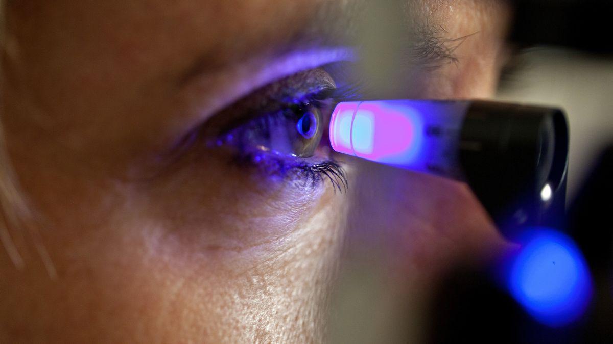 Symbolfoto Augeninnendruckmessung