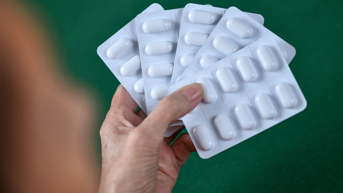 Ibuprofen-Tabletten