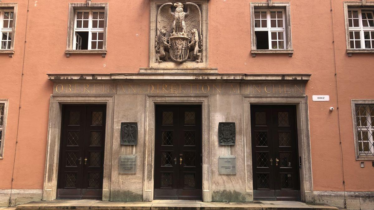 Das Landesamt für Steuern in der Münchner Sophienstraße