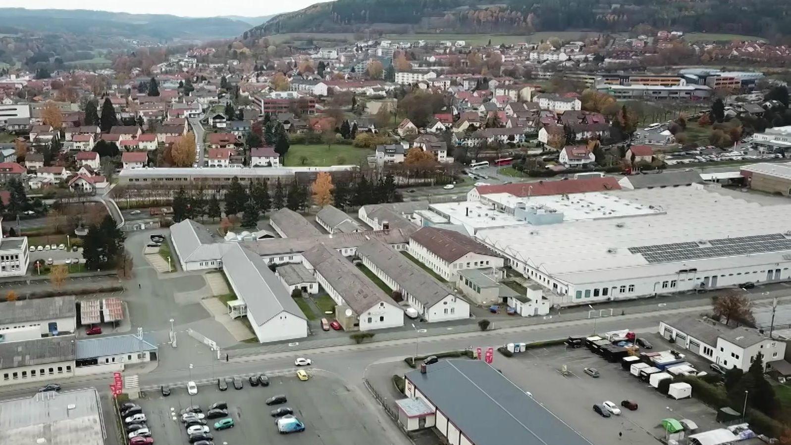 Fernsehgerätehersteller Loewe in Kronach