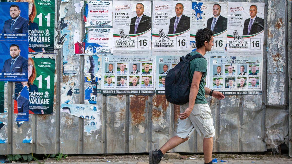 Walplakate in Bulgarien
