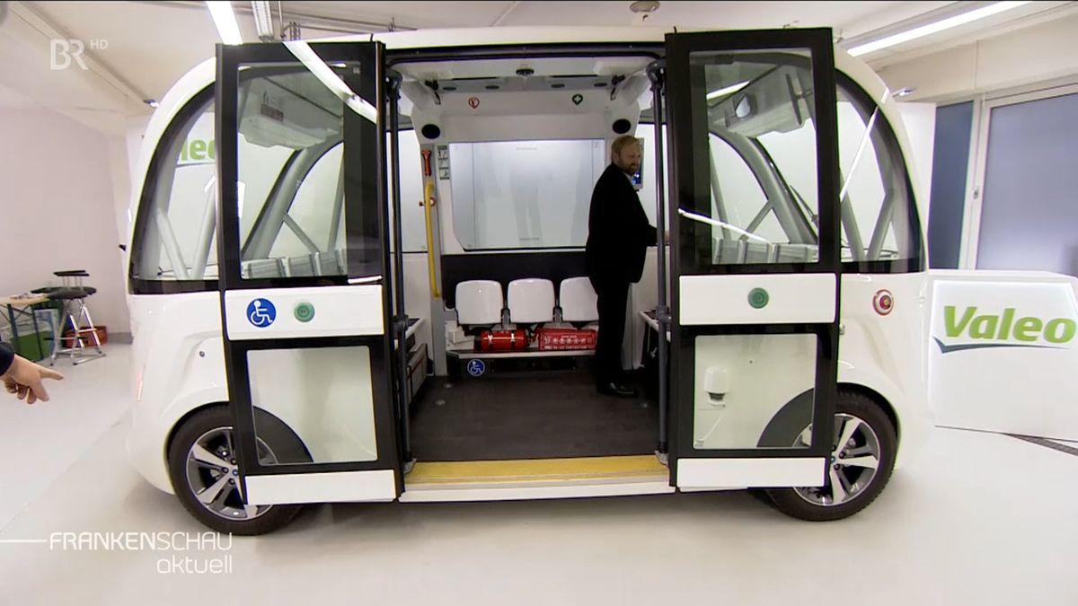 Vollautomatische Shuttle-Busse