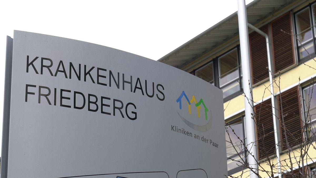 Das Krankenhaus in Friedberg.