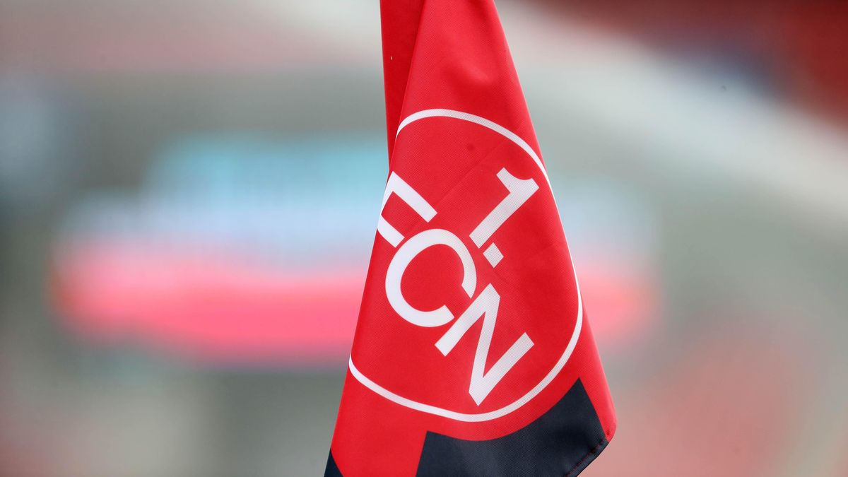 Fahne 1. FC Nürnberg