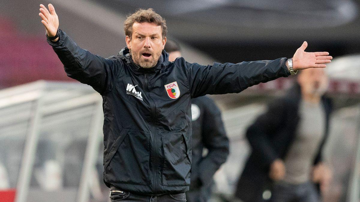 FC Augsburg-Trainer Markus Weinzierl