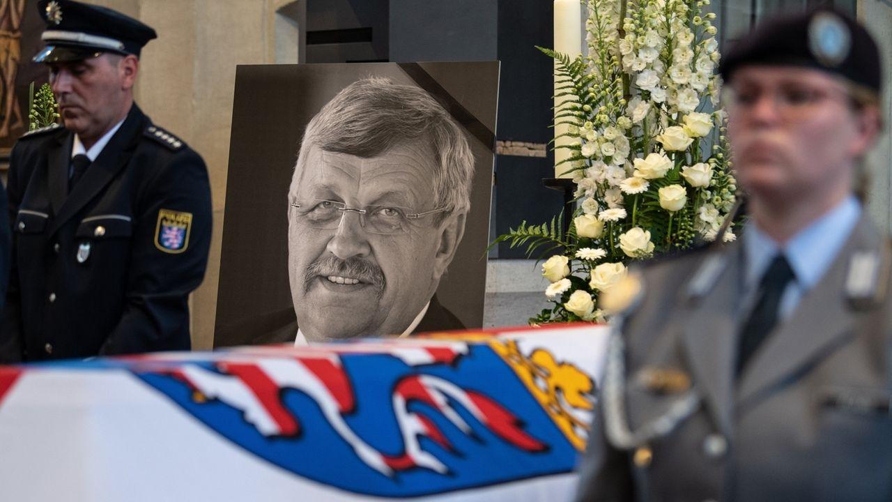 Trauerfeier für getöteten Kasseler Regierungspräsidenten Walter Lübcke.