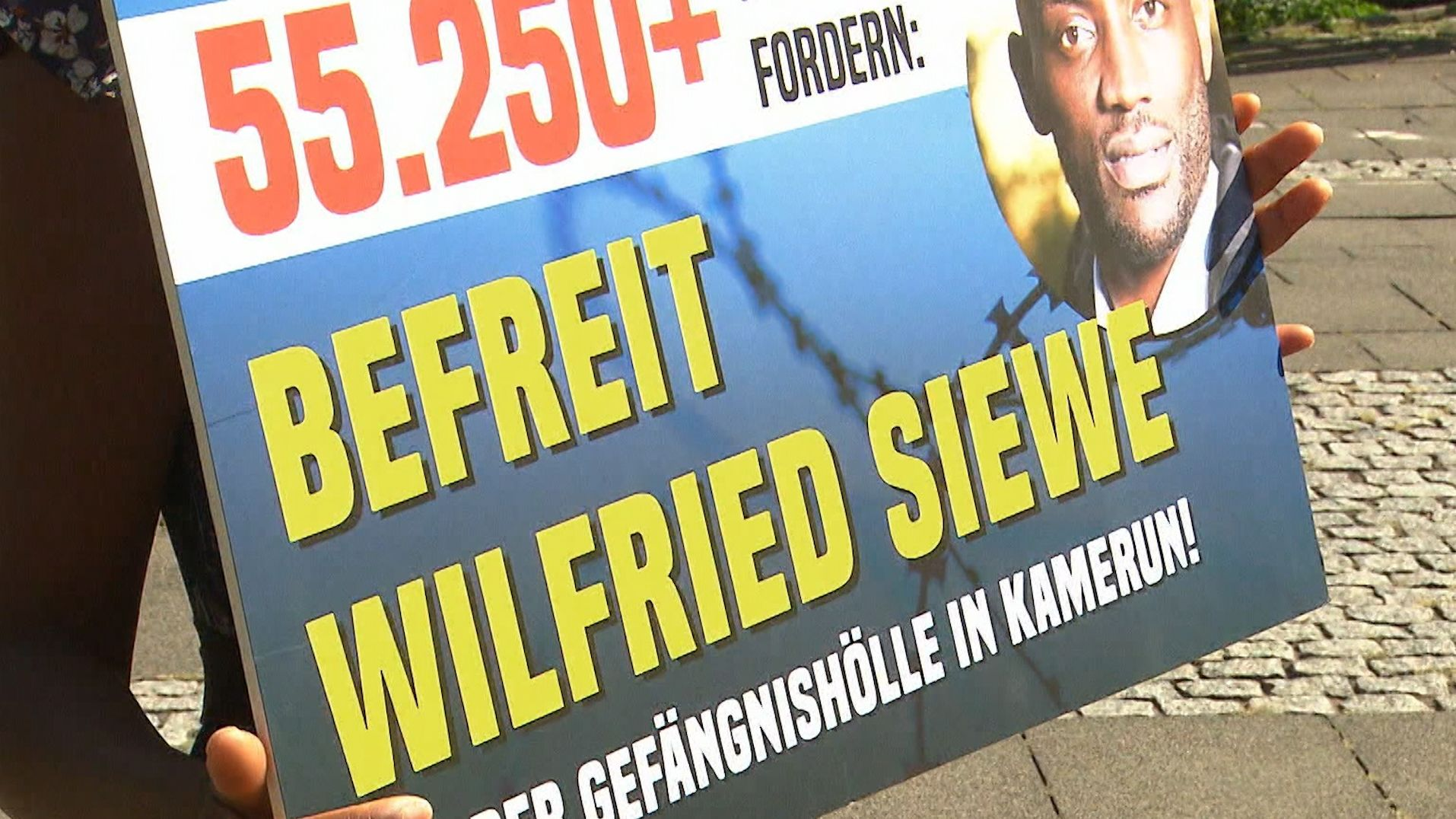 Petition für Wilfried Siewe