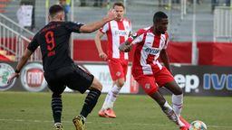 Spielszene Würzburger Kickers - FC Ingolstadt