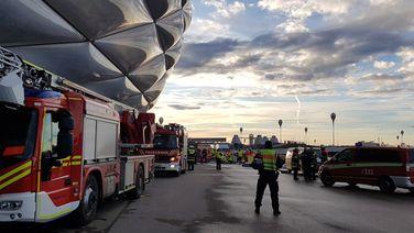 Katastrophenschutzübung an der Münchner Allianz Arena | BR Birgit Grundner