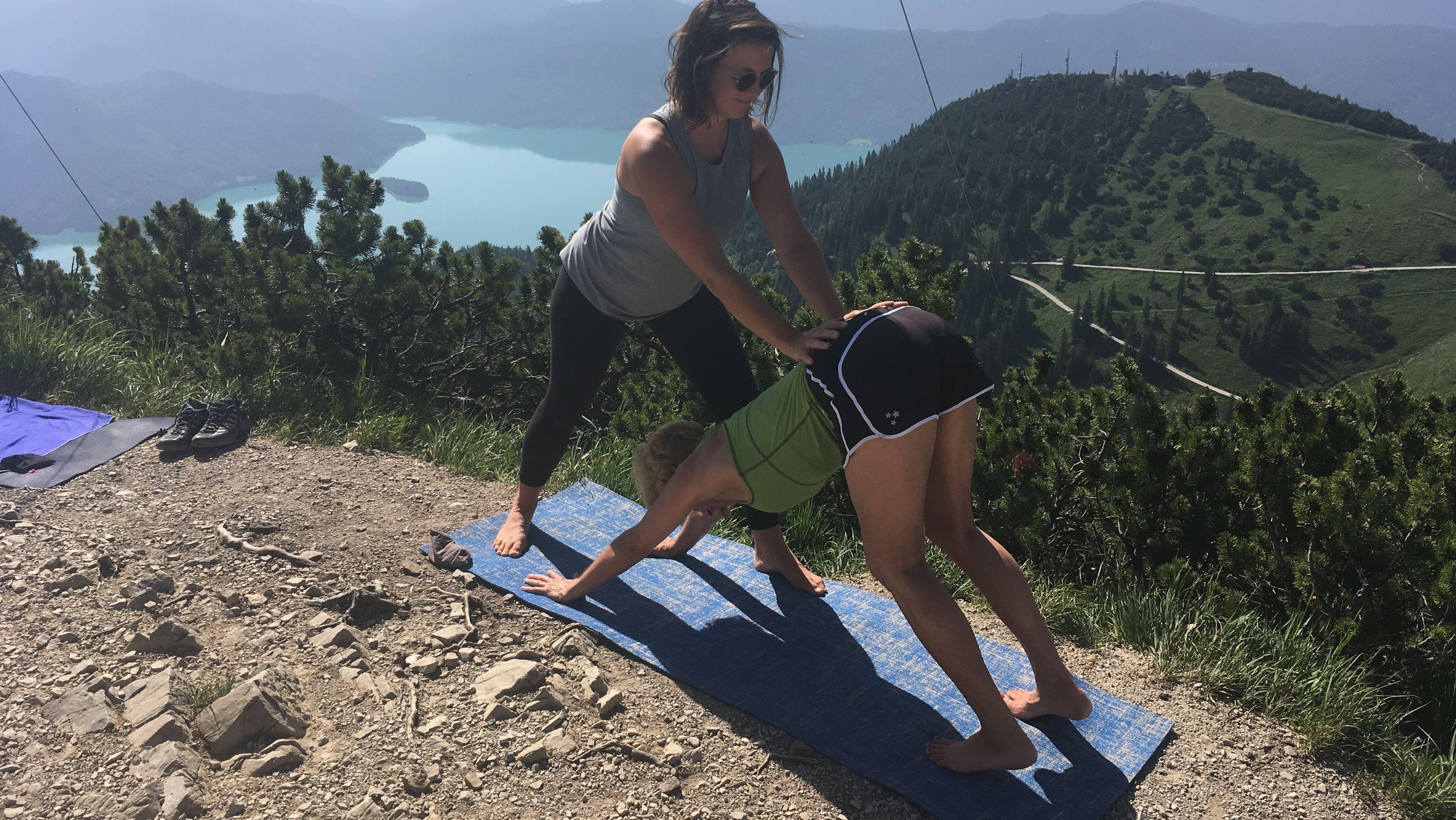 Yoga am Herzogstand