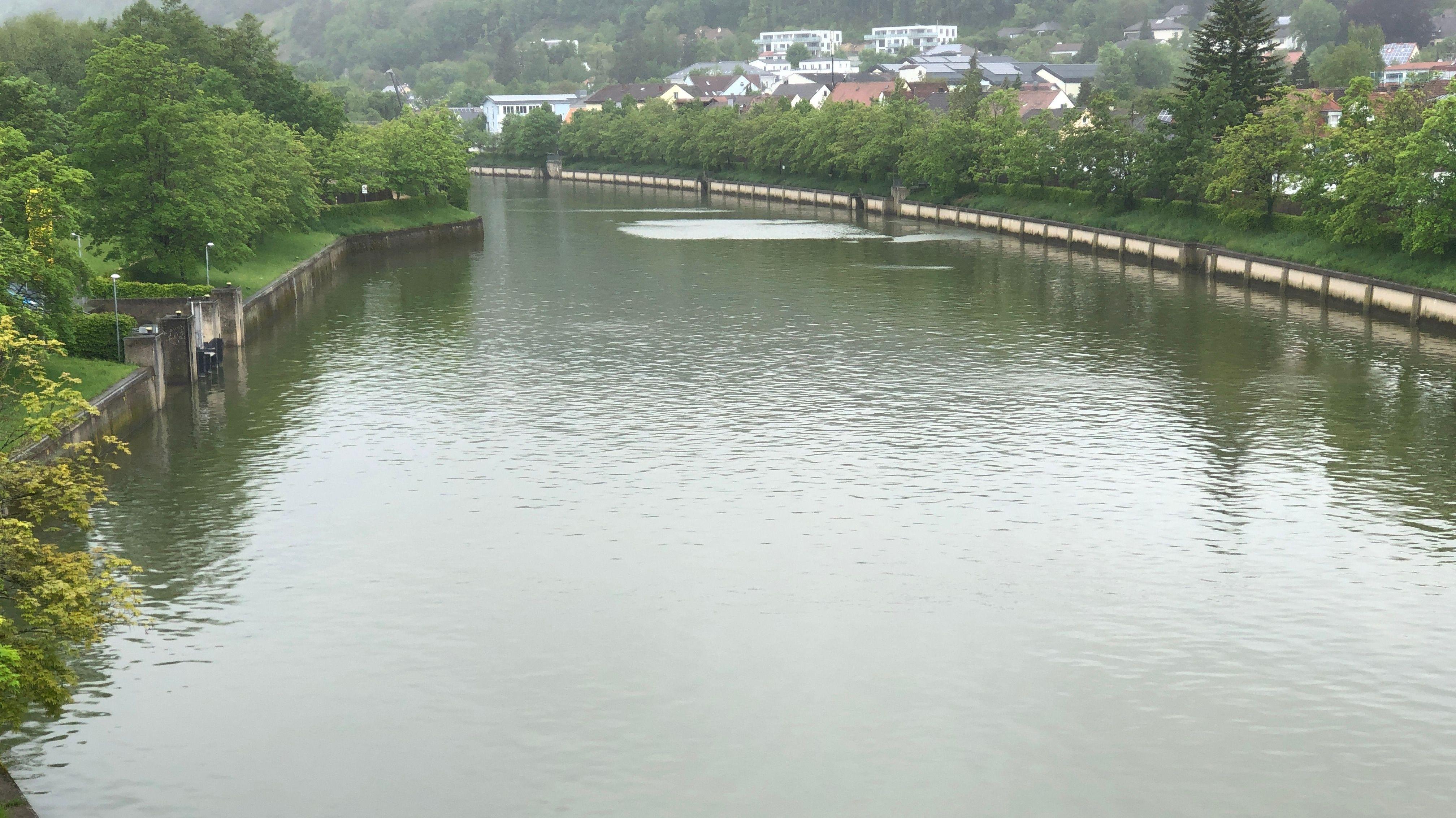 Die Donau in Kelheim - die Anwohner hier sind Einiges gewohnt.