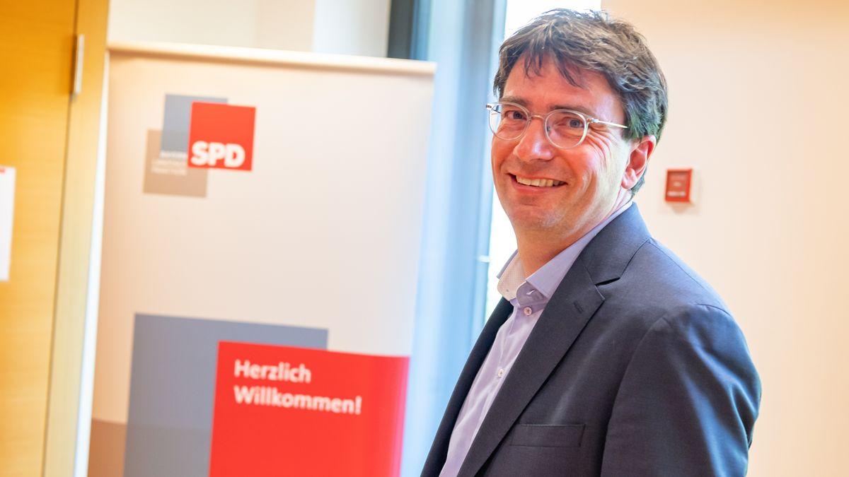 Florian von Brunn, Fraktionschef und Landesvorsitzender der Bayern-SPD