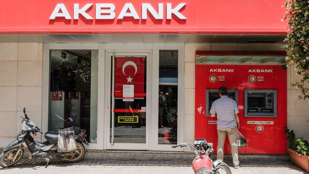 Türkische Bankfiliale
