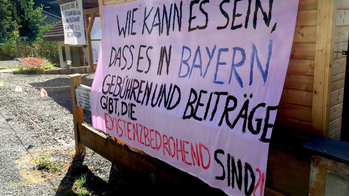 Potoest-Plakat in Bad Berneck