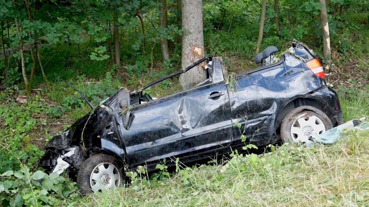 Schwerer Verkehrsunfall bei Karlstadt