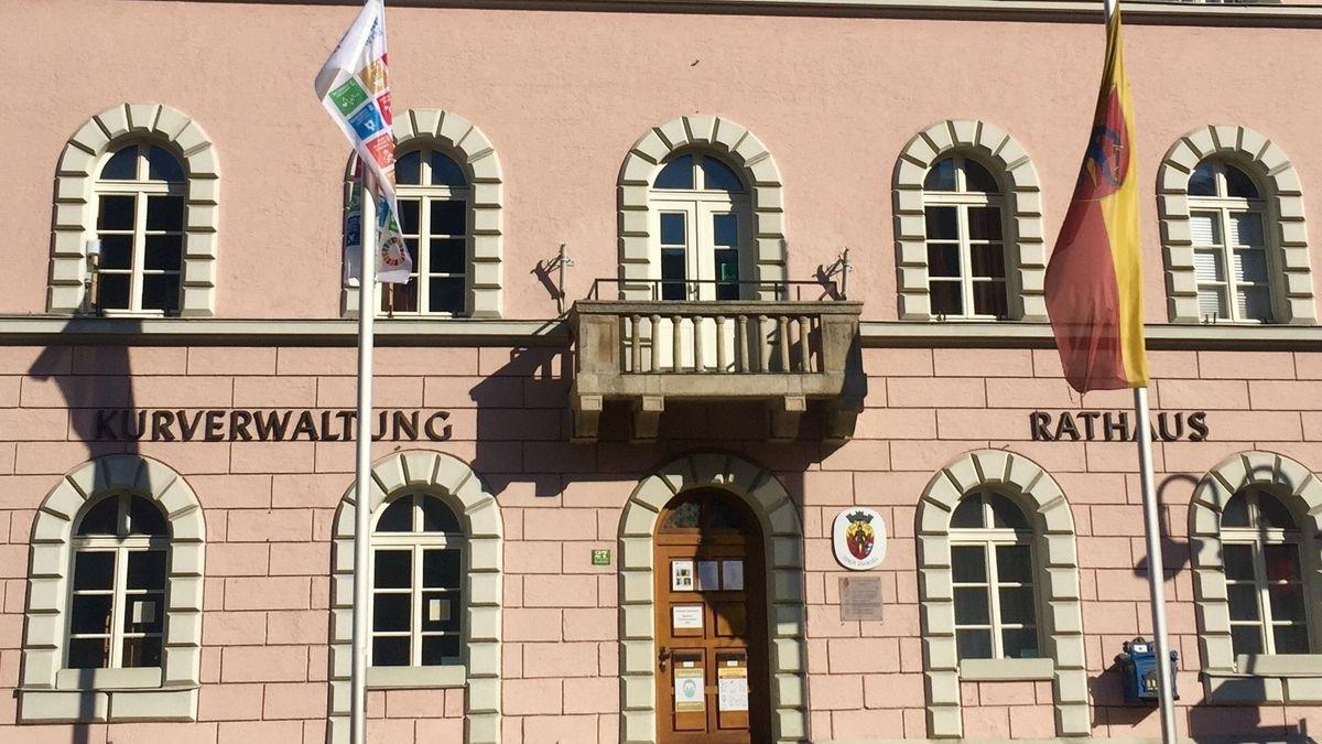 Das Rathaus in Zwiesel
