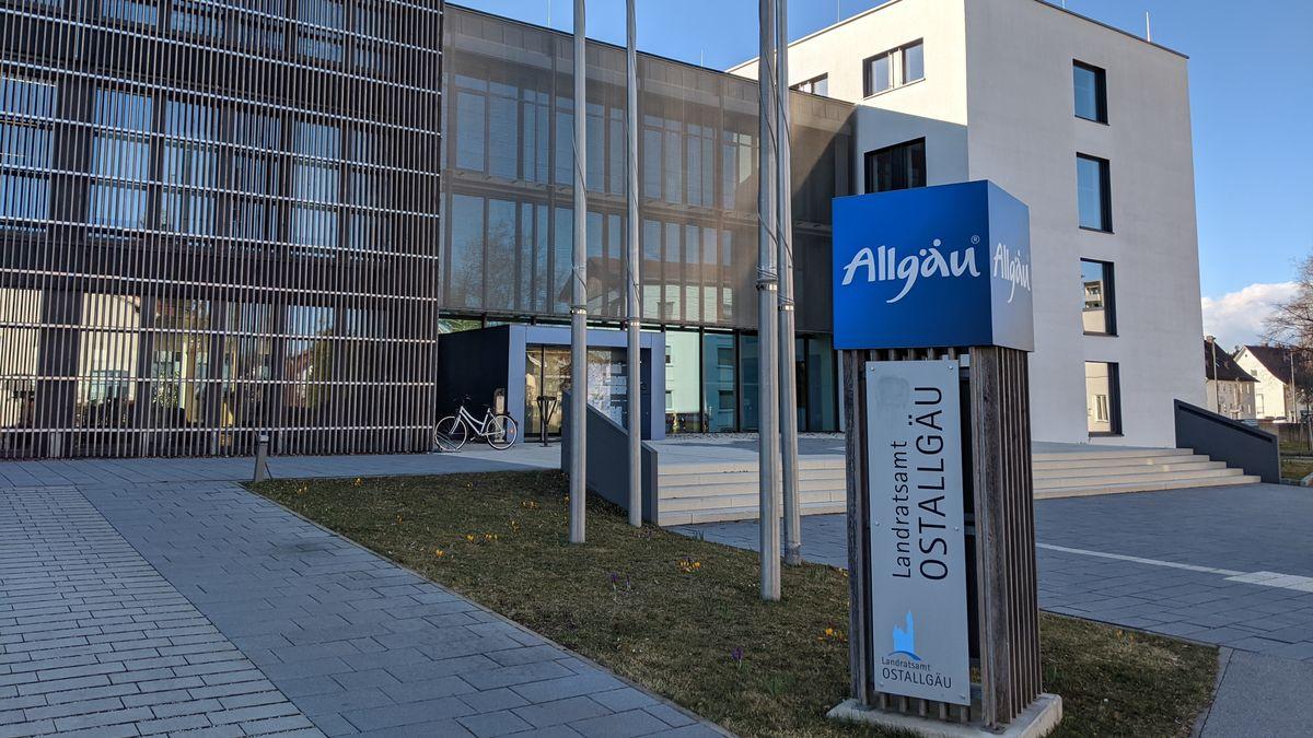 Das Landratsamt Ostallgäu in Marktoberdorf