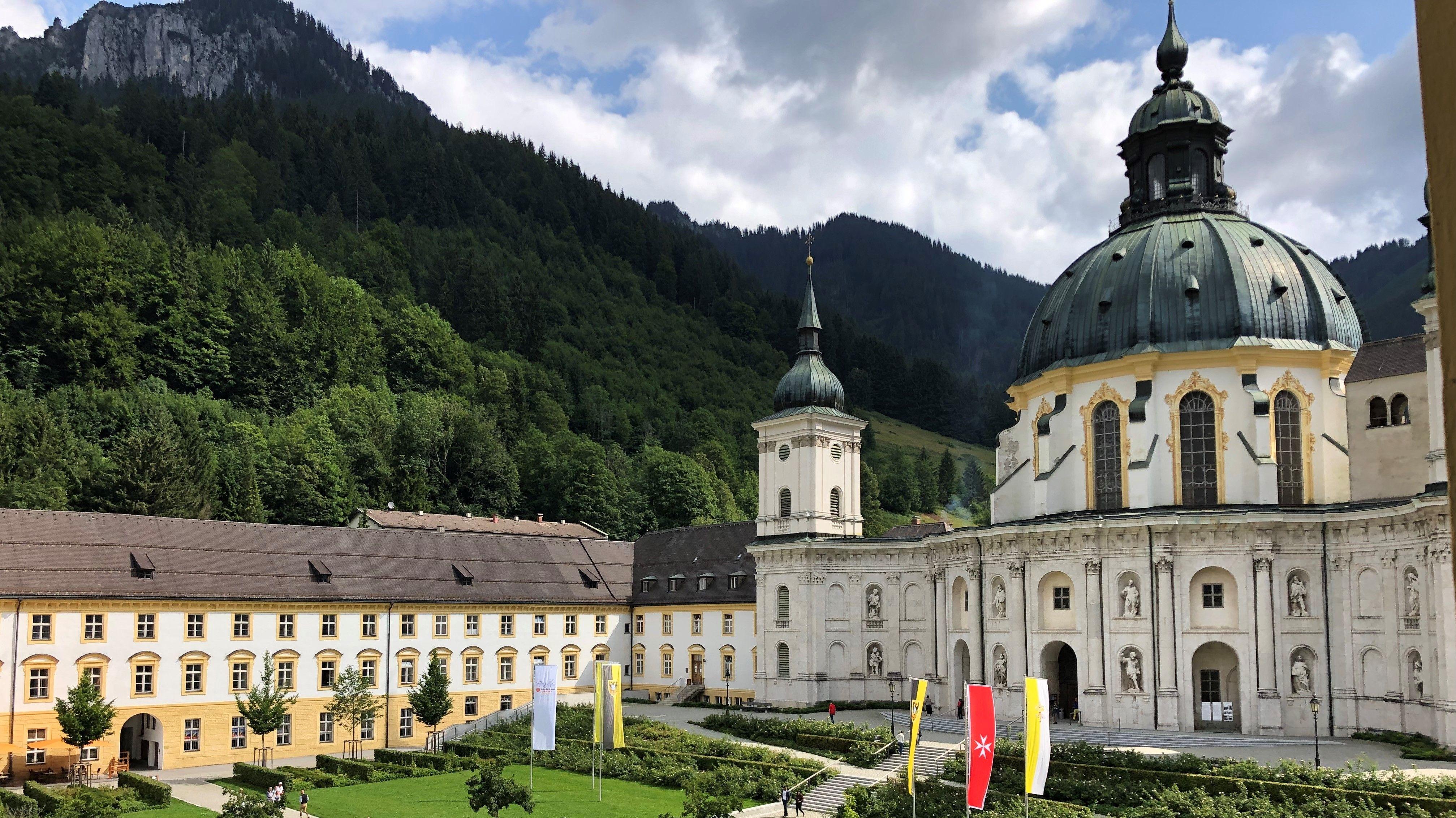 Sommercamp für Behinderte und Nichtbehinderte im Kloster Ettal