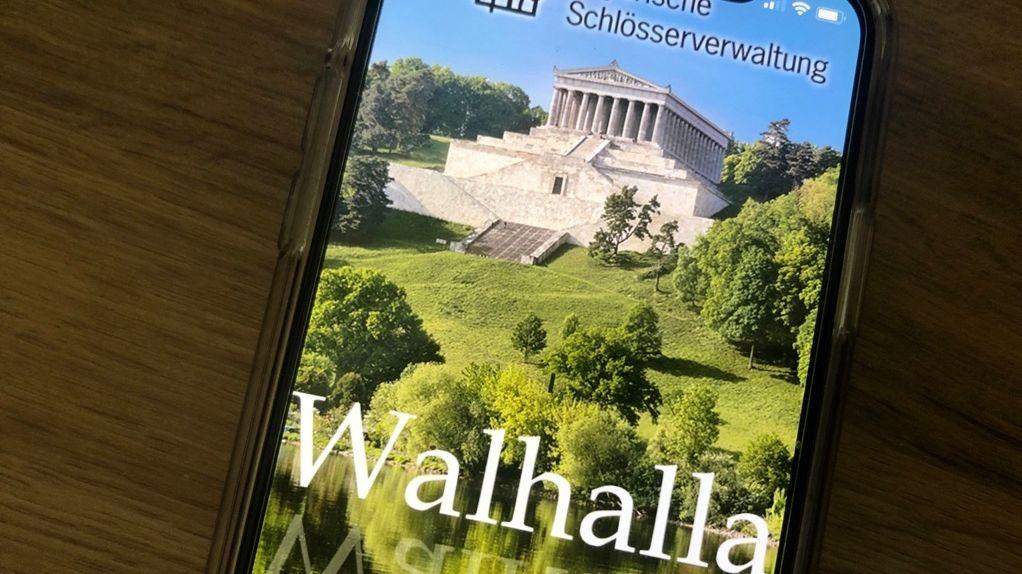 Die neue kostenlose Walhalla-App.