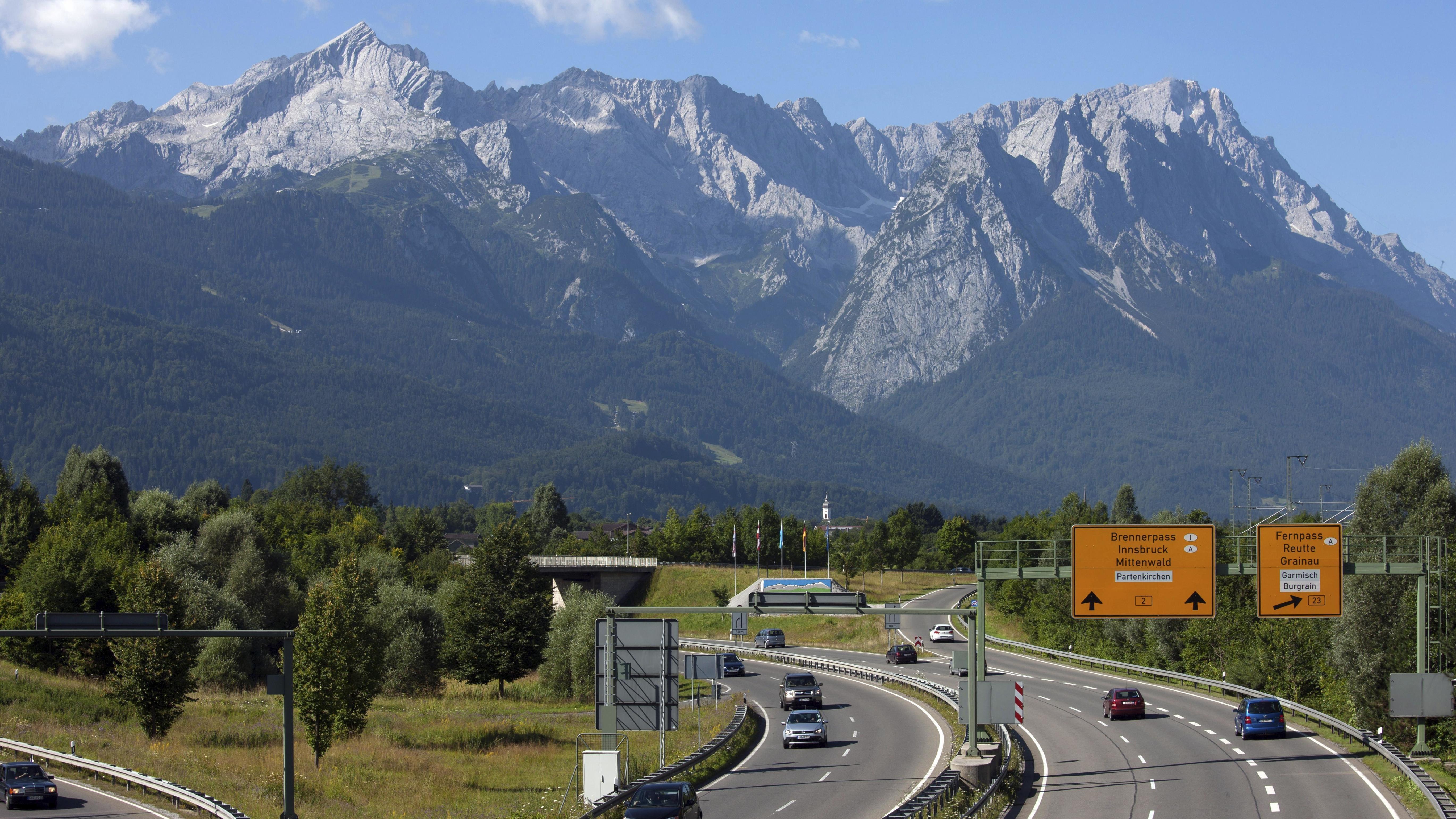 B2 bei Garmisch-Partenkirchen