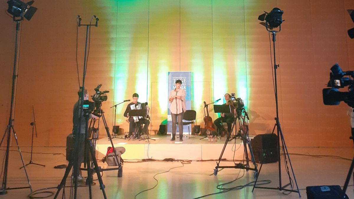 Konzert im Livestream im Jüdischen Gemeindezentrum