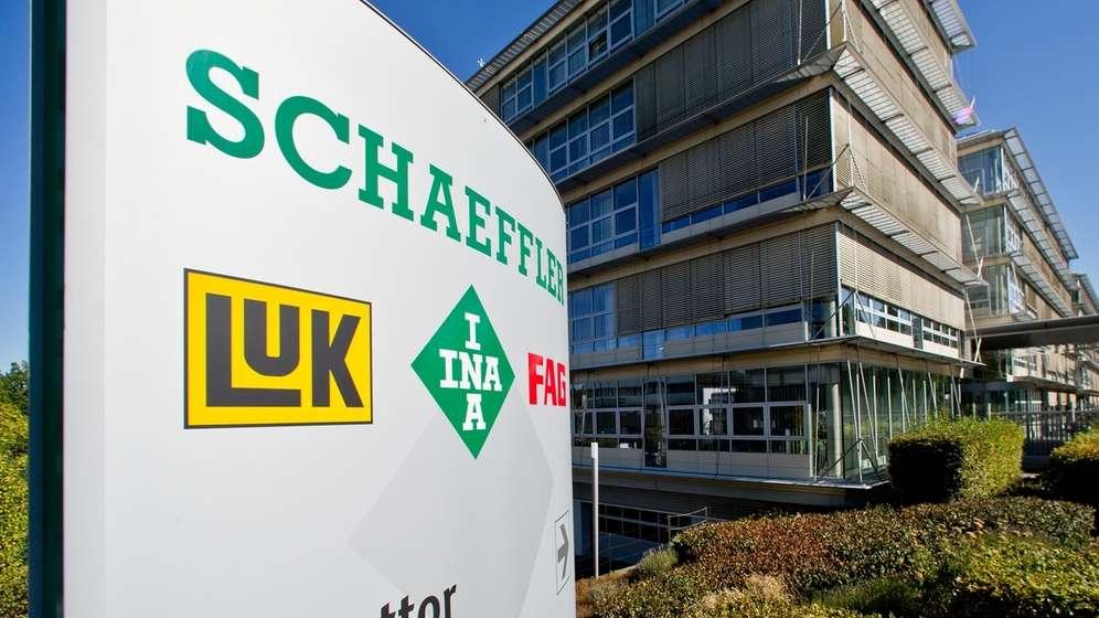 Der Unternehmenssitz von Schaeffler in Herzogenaurach | Bild:dpa-Bildfunk/Daniel Karmann
