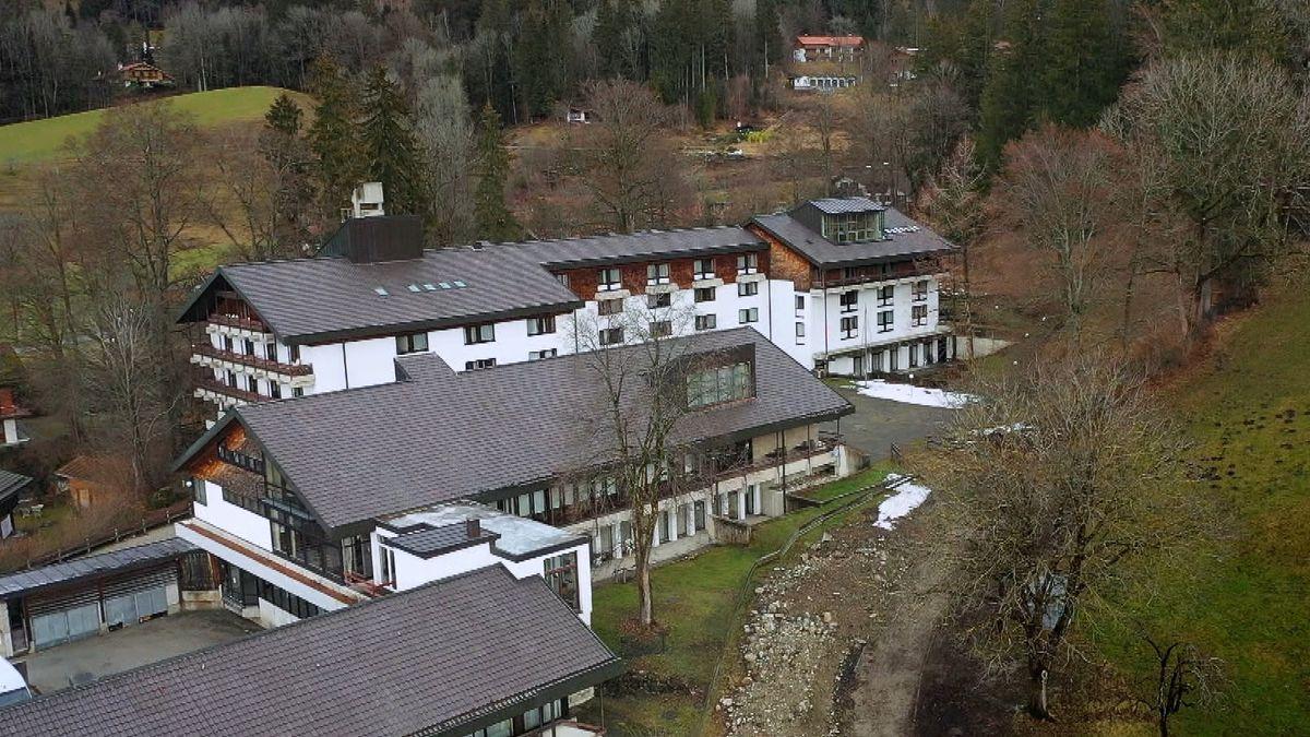 Die Seniorenresidenz Schliersee besteht aus mehreren Gebäudekomplexen.