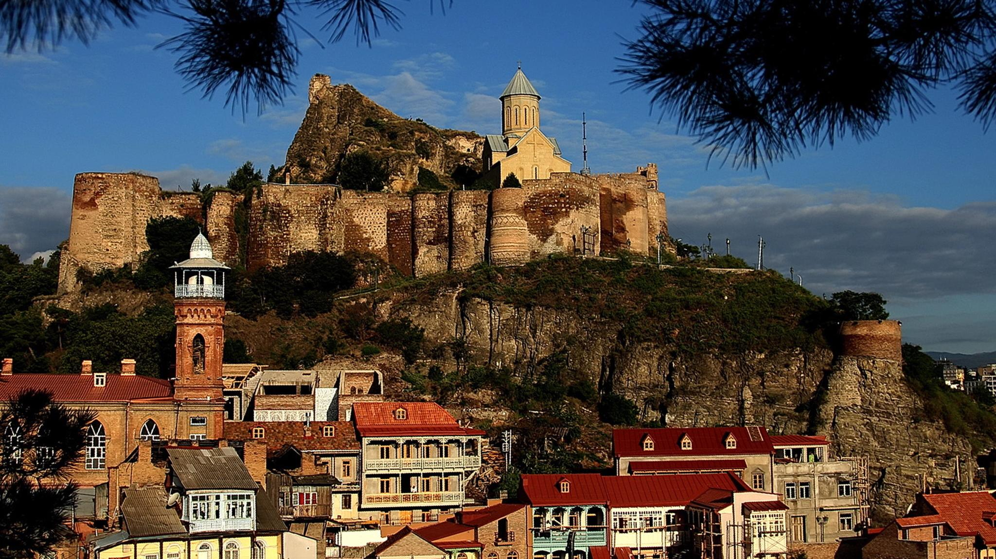 Altstadt und Burg von tbilisi