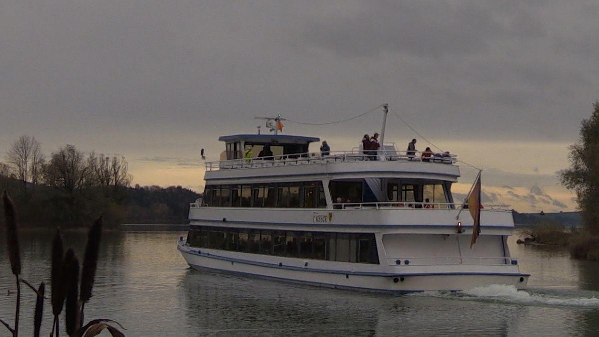 So viele Gäste wie nie haben in der vergangenen Saison eine Fahrt über den Forggensee gebucht