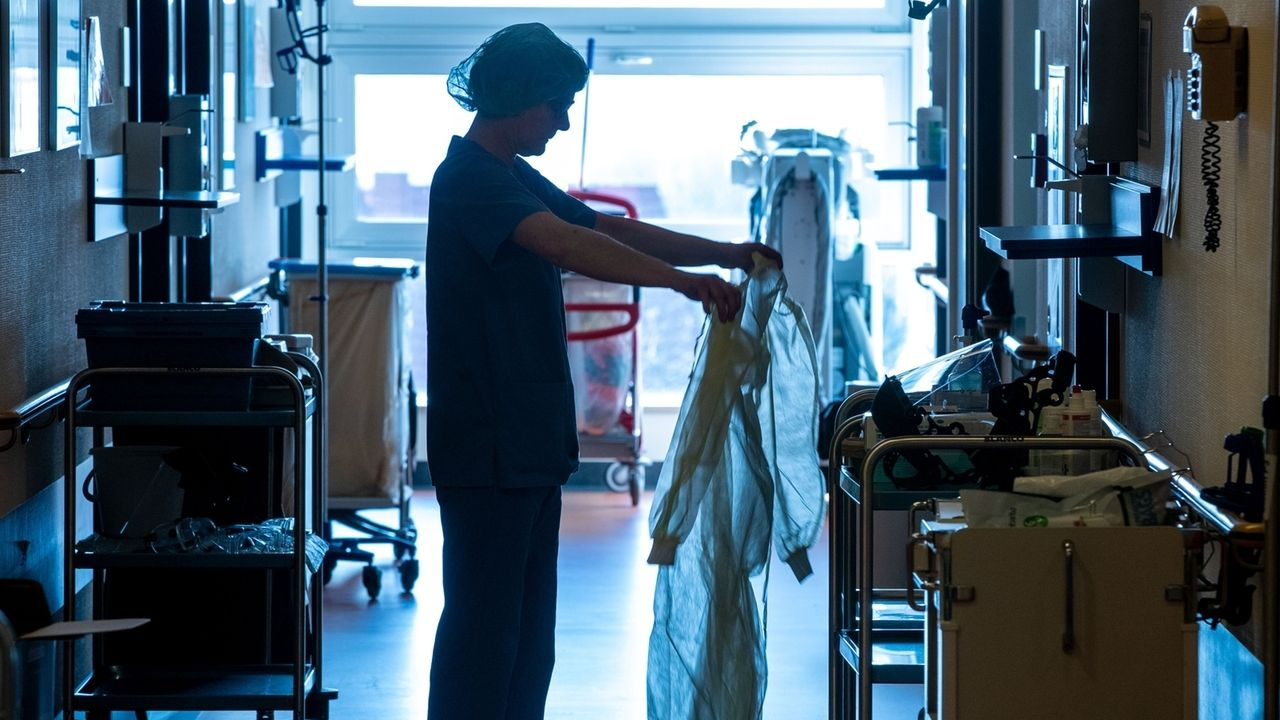 Krankenschwester in der Coronakrise