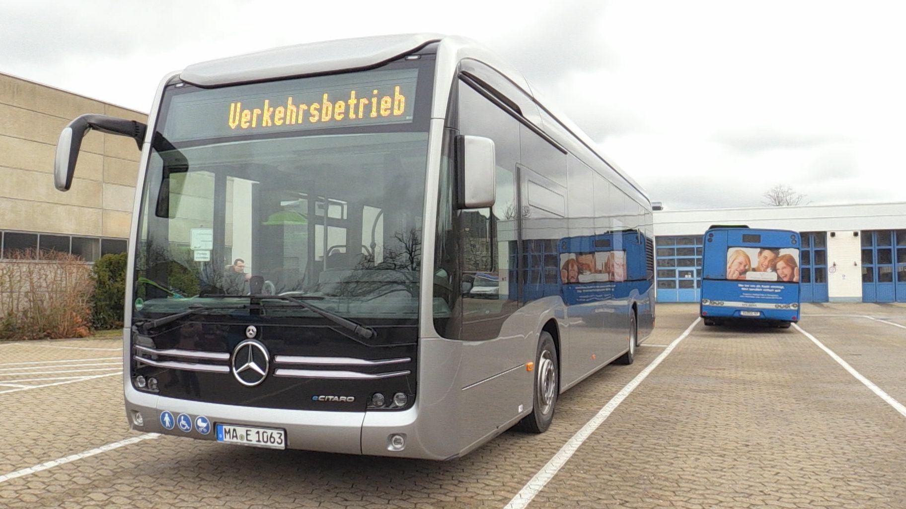 Elektrobus in Schweinfurt