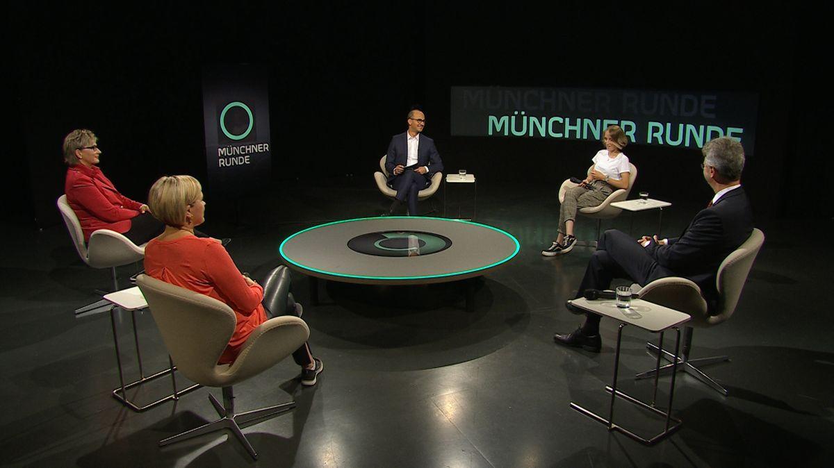 Münchner Runde im Bayerischen Fernsehen