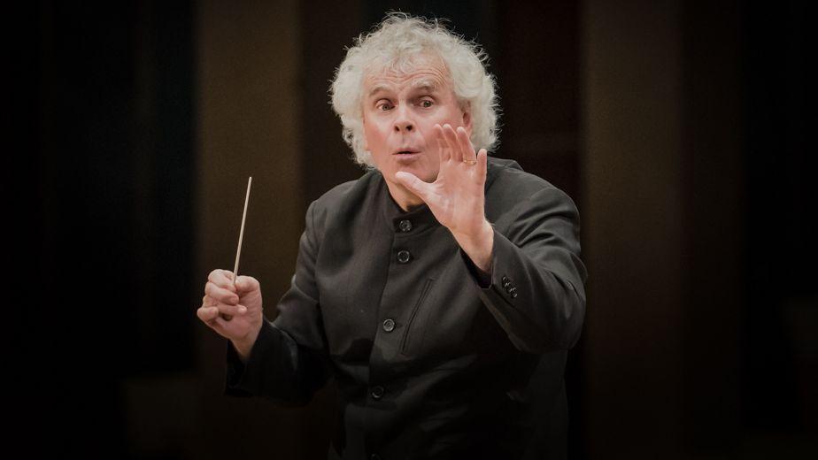 Simon Rattle wird Chefdirigent des BR-Symphonieorchesters.