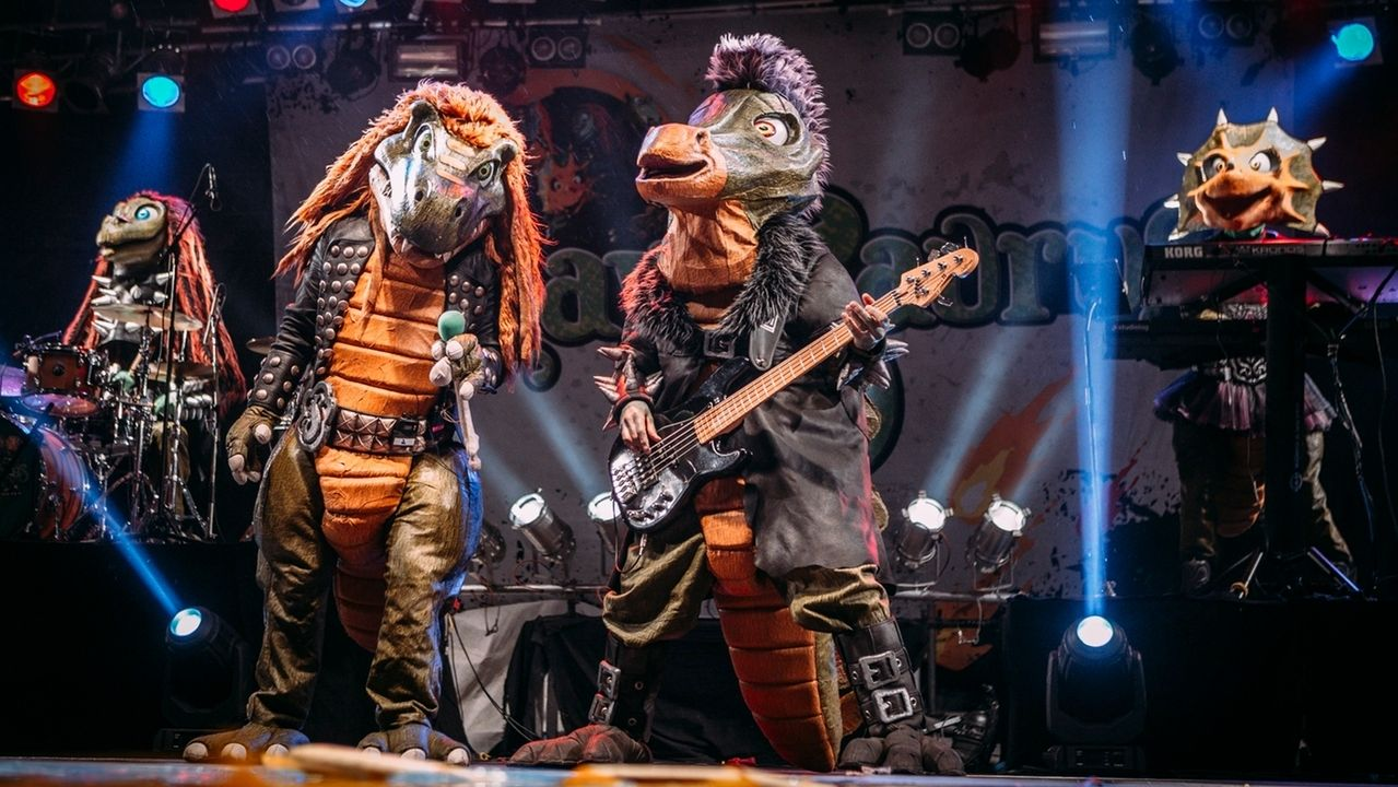 """Band """"Heavysaurus"""" aus Würzburg"""