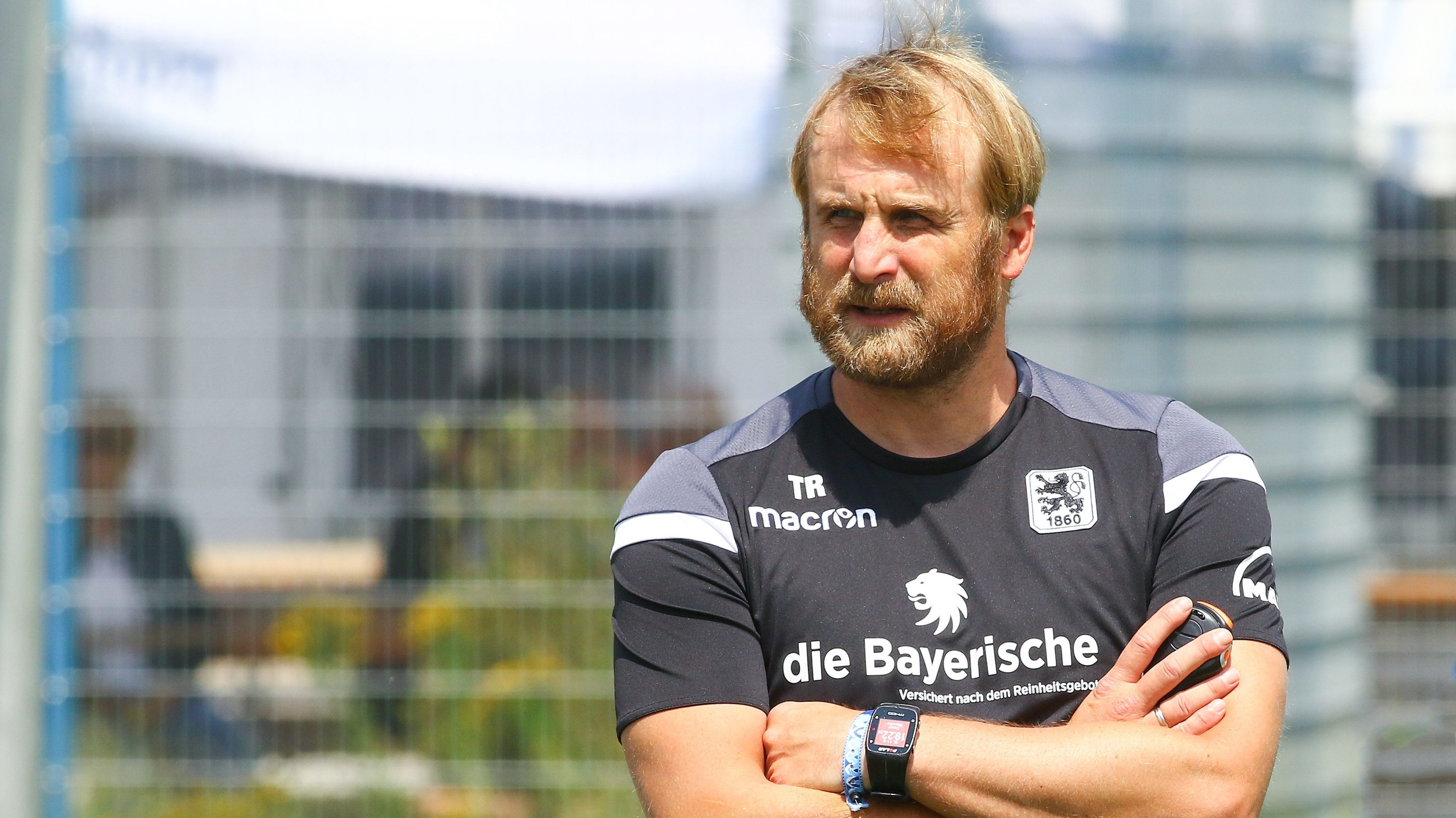 1860-München-Trainer Daniel Bierofka