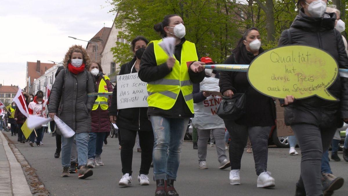 24 Stunden Warnstreik am Klinikum Nürnberg