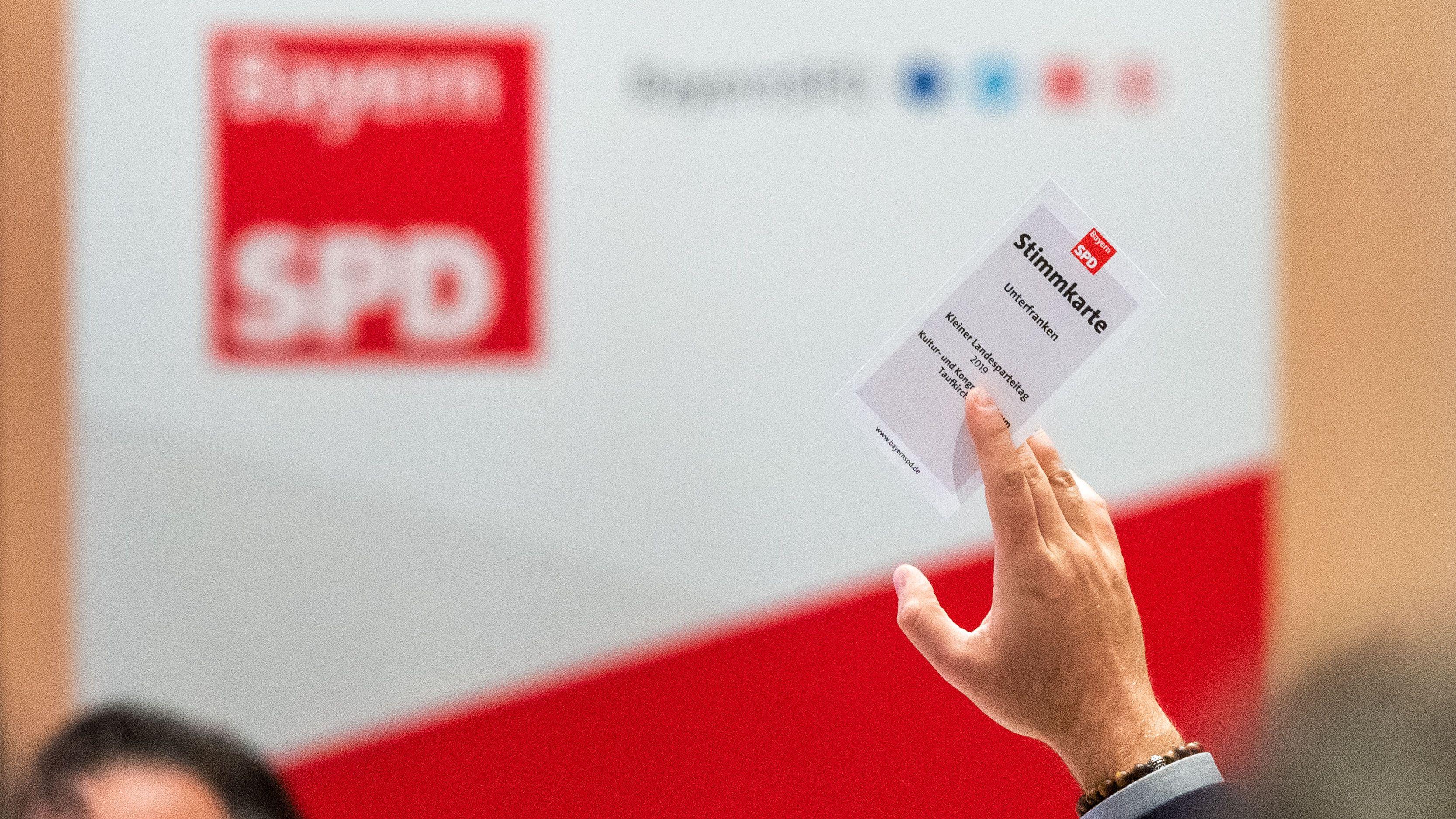 Parteitag der Bayern-SPD